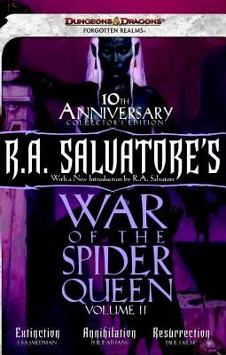 R  A  Salvatore's War of the Spider Queen by Smedman, Lisa/ Athans,  Phillip/ Kemp, Paul S