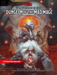 D&d Waterdeep Dungeon of the Mad Mage Maps and Miscellany
