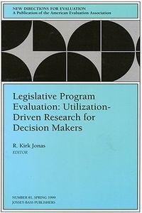 Legislative Program Evaluation