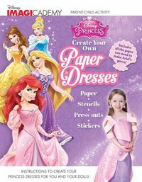 Disney Princess Create Your Own Paper Dresses