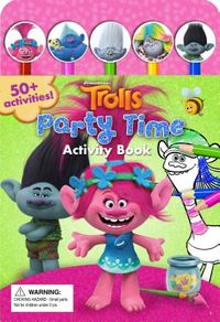 Trolls Party Time Activity Book