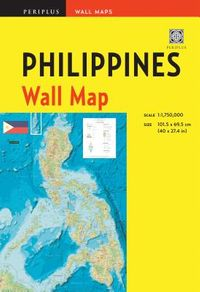 Periplus Philippines Wall Map