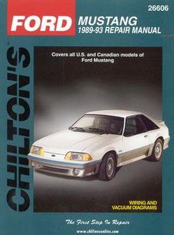 chilton ford mustang repair manual