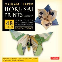 Origami Paper Hokusai Prints - Large 8 1/4
