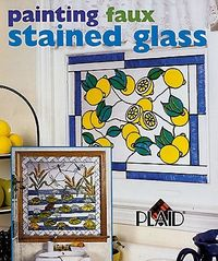 Painting Faux Stained Glass