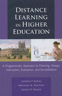 Distance Learning in Higher Education