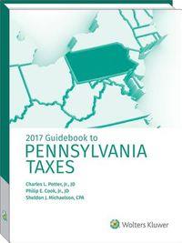 Guidebook to Pennsylvania Taxes 2017