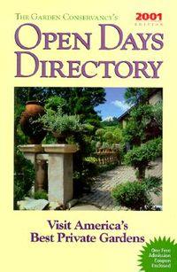 The Garden Conservancy's Open Days Directory 2001