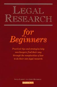 Legal Research for Beginners