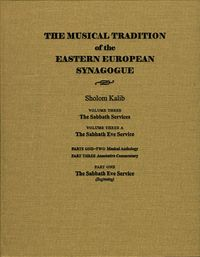 The Musical Tradition of the Eastern European Synagogue