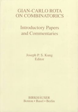 Gian-Carlo Rota on Combinatorics