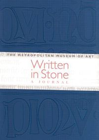 Written in Stone Journal Blue