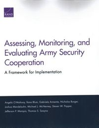 Assessing, Monitoring, and Evaluating Army Security Cooperation