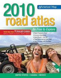 American Map 2010 Road Atlas United States, Canada, Mexico
