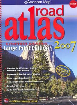 American Map United States Road Atlas 2007