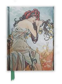Mucha Summer Foiled Journal