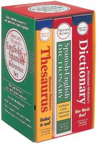 Merriam-webster's English & Spanish Dictionary Reference Set
