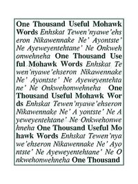 One Thousand Useful Mohawk Words