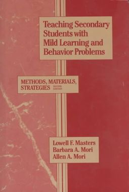 Teaching Secondary Students With Mild Learning and Behavior Problems