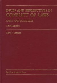 Issues and Perspectives in Conflict of Laws