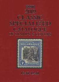 Scott Classic Specialized Catalogue of Stamps & Covers 2019