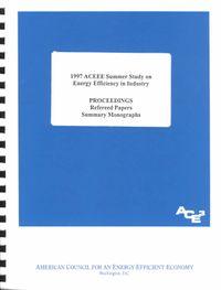 1997 Aceee Summer Study on Energy Efficiency in Industry