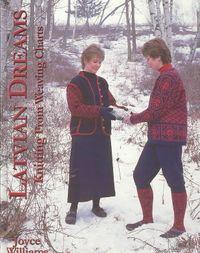 Latvian Dreams, Knitting from Weaving Charts