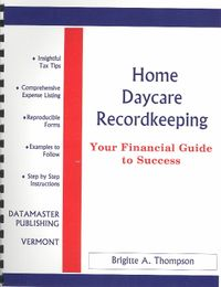 Home Daycare Recordkeeping