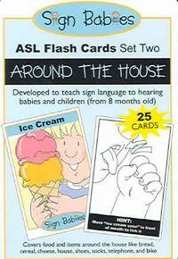 Sign Babies ASL Flash Card-Set 2