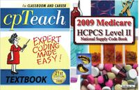 2009 Cpteach Textbook/Hcpcs Bundle