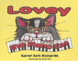 Lovey the Piano Cat