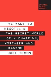 We Want to Negotiate