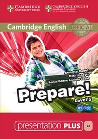 Cambridge English Prepare! Level 5 Presentation Plus