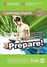 Cambridge English Prepare! Presentation Plus, Level 7