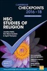 Cambridge Checkpoints Hsc Studies of Religion 2016-18