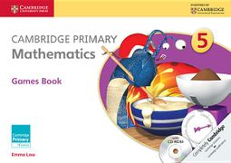 Cambridge Primary Mathematics Stage 5 Games Book + Cd-rom