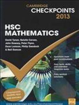 Cambridge Checkpoints Hsc Mathematics 2013