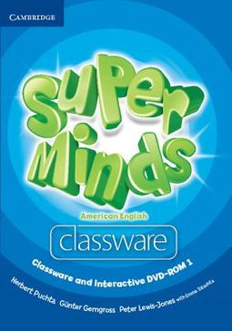 Super Minds American English Level 1 Classware + Interactive Dvd-rom