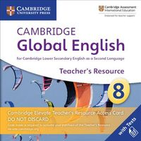 Cambridge Global English Stage 8 Cambridge Elevate Teacher's Resource Access Card