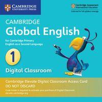 Cambridge Global English Stage 1 Cambridge Elevate Digital Classroom 1 Year Access Card