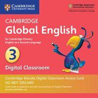 Cambridge Global English Stage 3 Cambridge Elevate Digital Classroom 1 Year Access Card