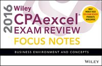 Wiley CPAexcel Exam Review Focus Notes 2016