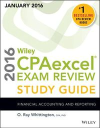 Wiley CPAexcel Exam Review, January 2016
