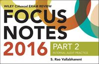 Wiley CIAexcel Exam Review Focus Notes 2016