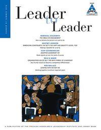 Leader to Leader, Summer 2016