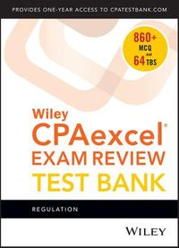 Wiley Cpaexcel Exam Review 2018 Test Bank 1-year Access Card
