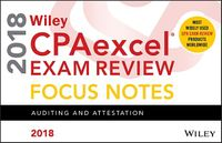 Wiley CPAexcel Exam Review Focus Notes 2018