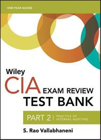 Wiley CIA Test Bank 2019