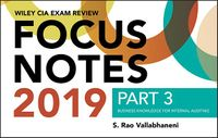 Wiley CIA Exam Review 2019 Focus Notes