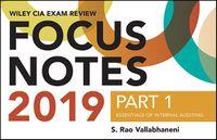 Wiley CIA Exam Review Focus Notes 2019